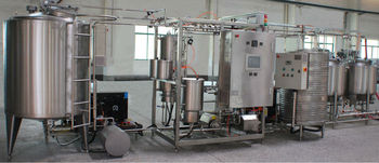 Mini dairy plant installed in 40 feet container