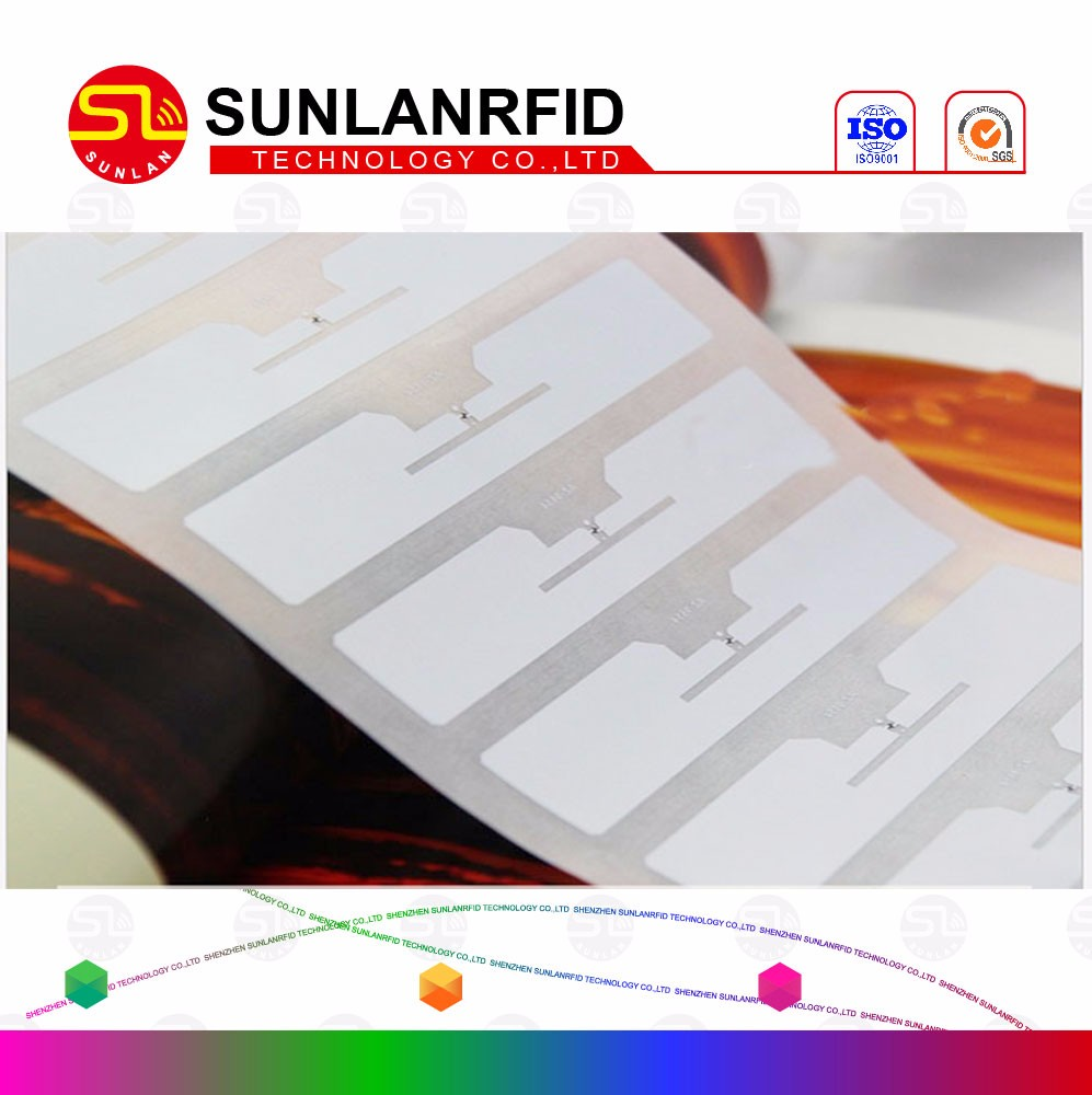 Customized size coated paper 13.56MHz rfid tag label and sticker