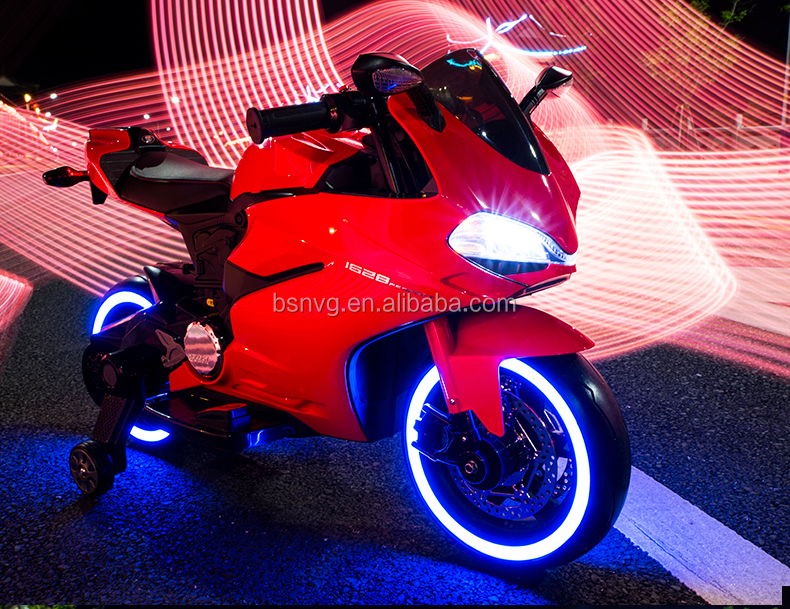 Children Electric Bike With Fancy Light Effect