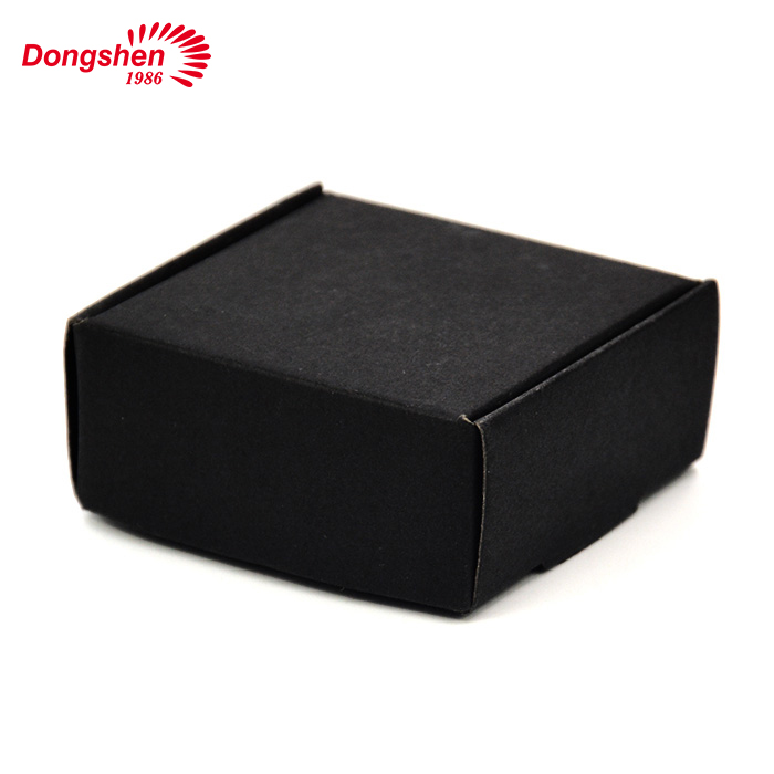 Private label shaving soap with black paper box
