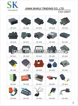 hot sell china manufacturer motorcycle electrical parts cdi for