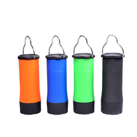 Get Free Sample Colorful mini portable retractable hand lamp multifunction led camping lantern with flashlight