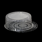 Proper price high quality plastic cake dome containers,transparent cake box