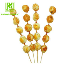 Disposable Fast Food 25cm BBQ Quail Egg Skewers