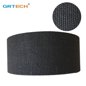 Black color woven brake lining roll