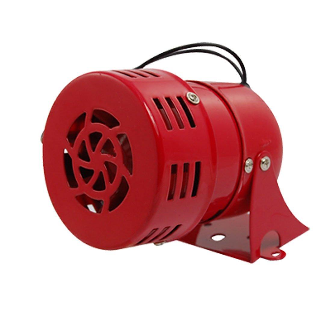 Бутик AC 220 В красного металла двигателя приводной сирена воздушной тревоги рог сигнализации