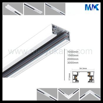 Vendita Calda 3 Linea Traccia Di Luce Led Ferroviario 1m 2m 3m Squre