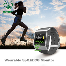 CE/FDA Approved Sport Smart Watch Wearable SpO2/ECG/blood pressure Monitor with bluetooth