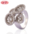 Custom Gift Items Wholesale Gold Plated Designs Zircon Ring Women Rings