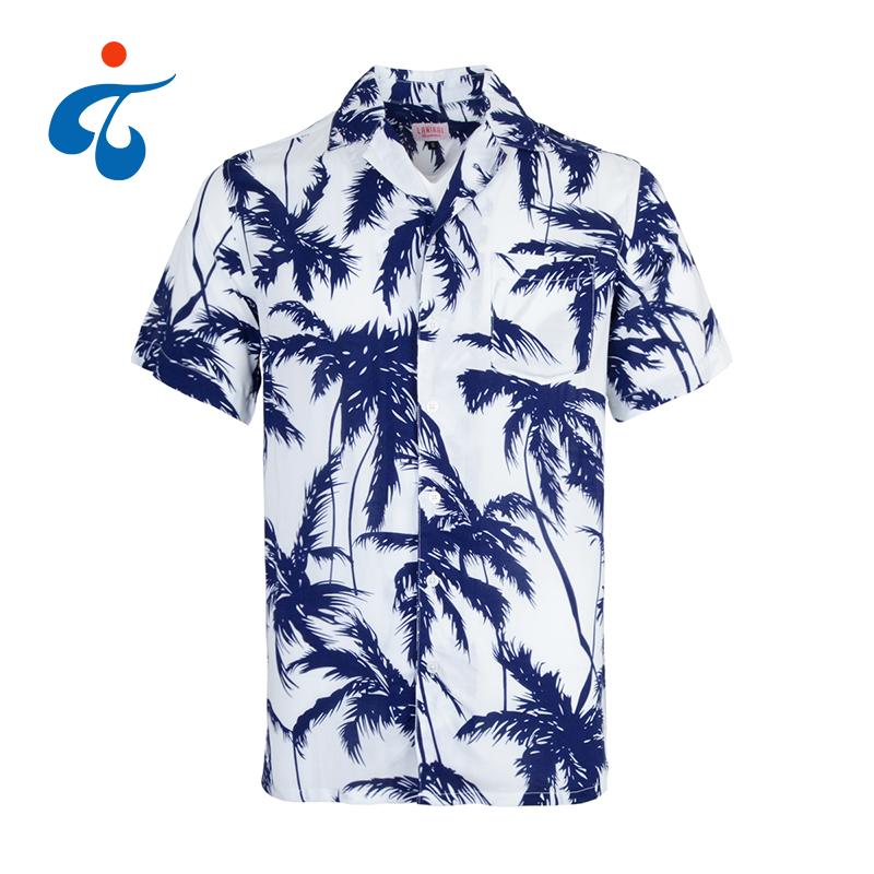ad28b5867 Wholesale price new design eco-Friendly custom rayon hawaiian shirt man