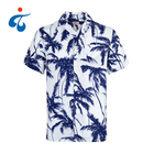 Wholesale price new design eco-Friendly custom rayon hawaiian shirt man