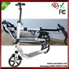 citykicker full aluminum big wheel folding fold Wheel Scooter Adult Suspension Push Kick Scooter