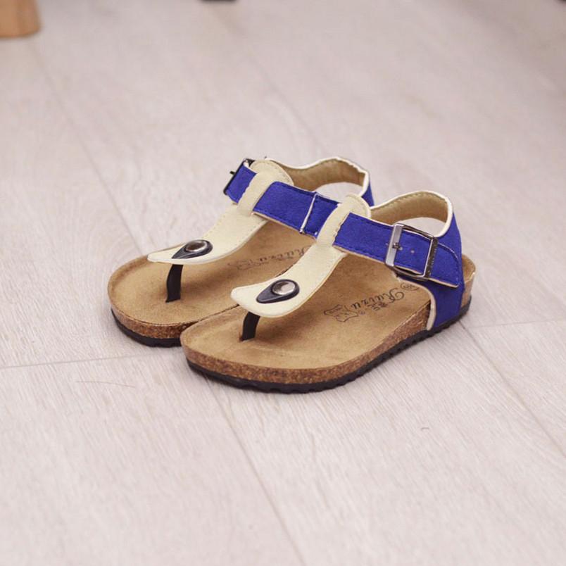 32a787f81c8 2016 New Children Shoes Kids Boy Sandals Boys Slides Shoes Girl Shoes  Toddler Sandals High Quality