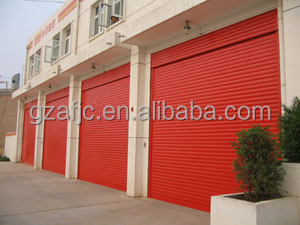 Fire Rated Steel Roller Shutter Door,180mins Fire Resistant Door Shutter,  Roll Up Steel