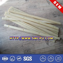 Custom made colored extruded flat nylon strips