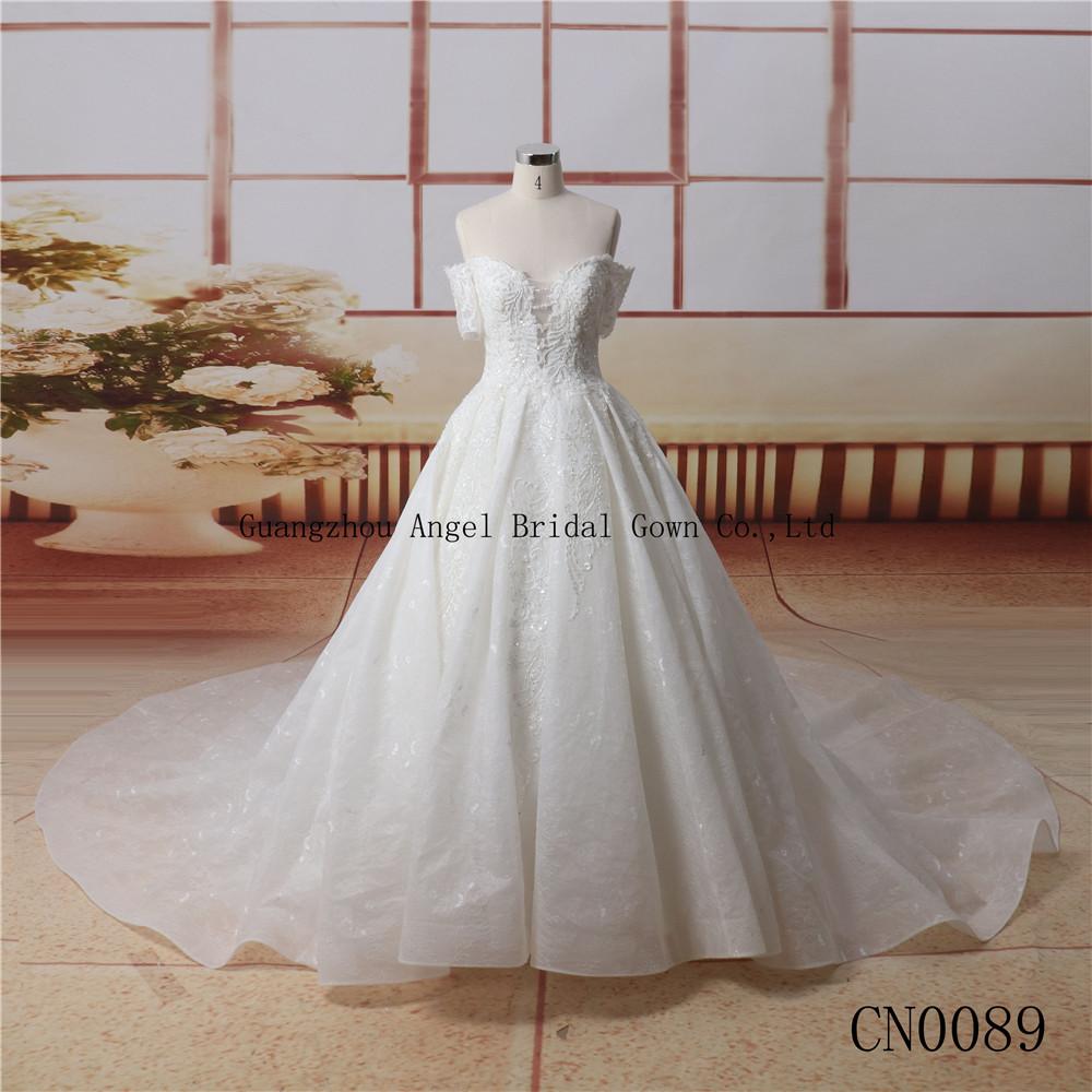 A Line Frocks Designs Wedding Dress