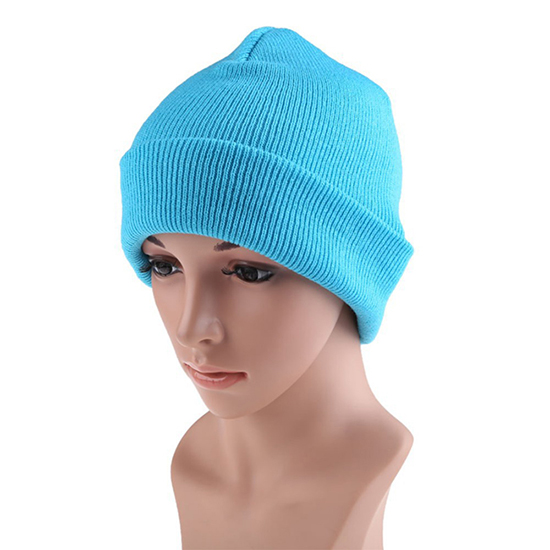 New Style Acrylic Custom Knit Beanie Cap With All Kind Of Color