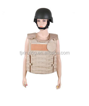 Tactical full protection bulletproof vest body armor