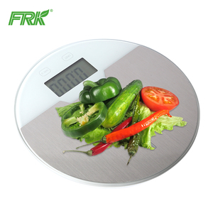FRK Stainless Steel Wall Mounted Fold Electric Manual Kitchen Weighing Scale