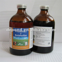 Veterinary medicine Vitamin B12 + Butafosfan nutritional injection