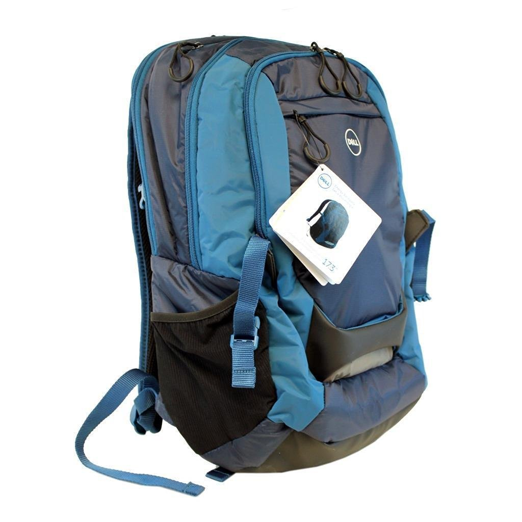 c4d4b74a134b Get Quotations · New Dell Blue Energy Notebook Laptop Backpack Bag - Fits  Up To 17.3