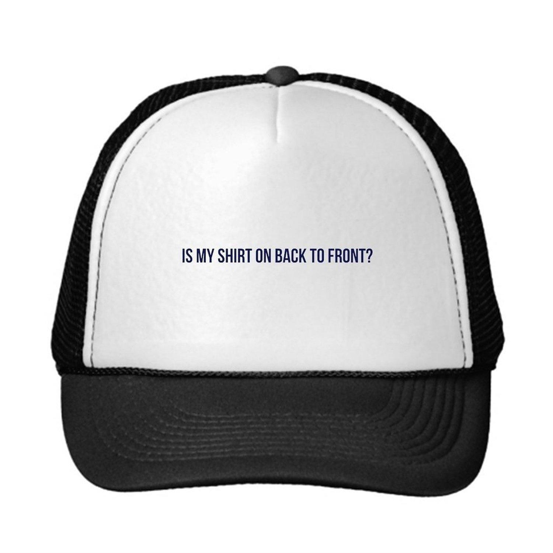 ea3aeb2a97b61 Get Quotations · YAPADD Trucker Hat Back To Front Neon Trucker Hat