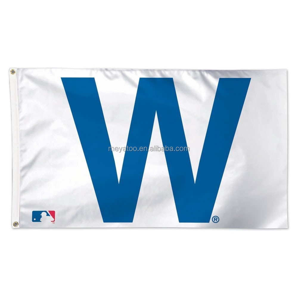 MLB Chicago Cubs 3*5 fts polyester Deluxe Flag