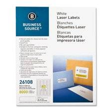 """Mailing Labels,Return Address,Laser,1/2""""x1-3/4"""",2000/PK,WE, Sold as 1 Package, 2000 Each per Package"""