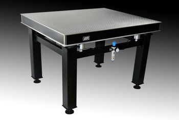 Beau Vibration Isolated Optical Table With Clean Top Honeycomb Core Breadboard  DST Type