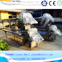 new design factory direct sale low price chicken feet processing machine/Goose Meat Feet Cutting