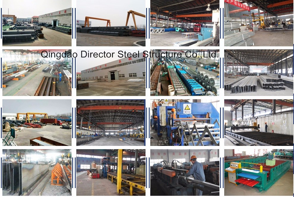 Standard Manufactured Expandable Factory Prefabricated Warehouse