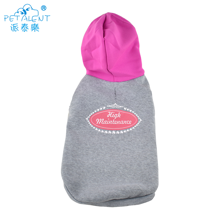 Popular dog clothes pet accessories,pet coat with a hat