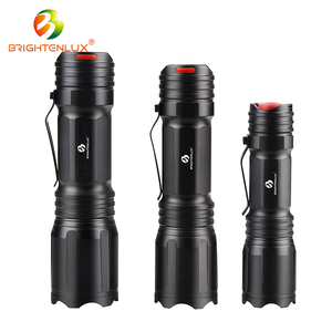Wholesale IP44 With clip rechargeable led torch light