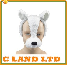 Best selling plush toy animal mask lamb mask cute facial mask