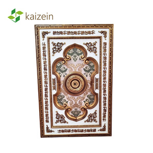 Top Selling Beautiful Artistic Decorative Ceiling Kitchen Cladding Panels 120mm Pvc And Wall Panel
