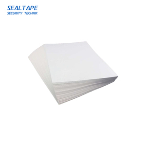 China a3 die-cut paper sheets eggshell graffiti material barcode stickers destructible vinyl labels in roll