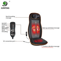 Rolling Back Massager Kneading Shiatsu Infrared Heated Portable Neck And Shoulder Massager