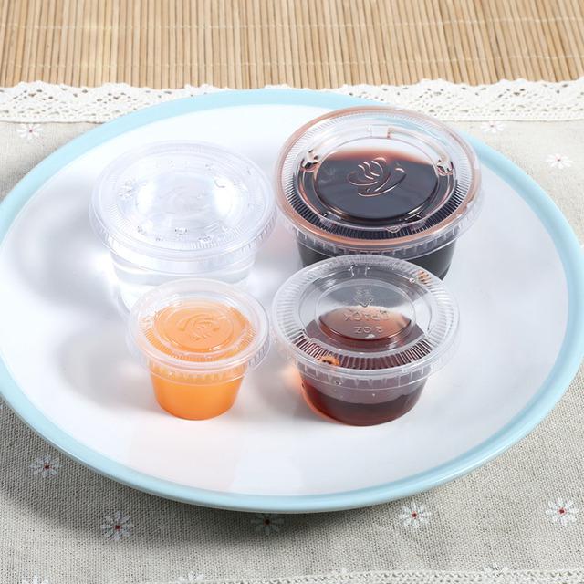 Soy Sauce Dish Salad Sauce Saucer with Clip Assorted Dip Bowl Ketchup Jam Spices