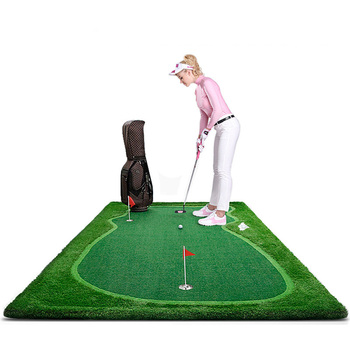 Indoor and Outdoor Golf Putting Green Trainers/Golf Putting Practice Mat