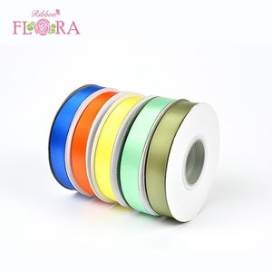 High quality christmas single sided 100% polyester wholesale satin ribbon