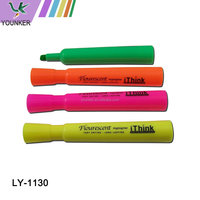 Non-toxic Waterproof Different Fluo Colour Highlighter Pen