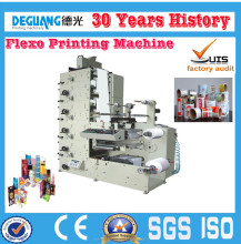 Flexo Rotary Label Print Machine and Roll To Roll Polyethylene Flexo Printing Machine