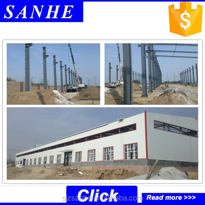 20mx30m warehouse/light steel thin-walled structures auto workshop design