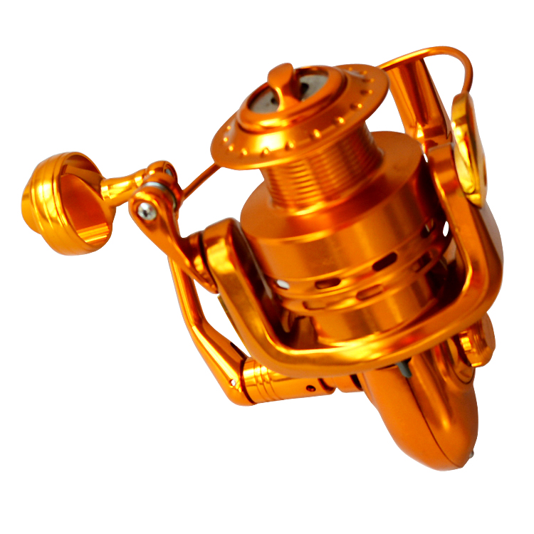 LA6000 FE In Stock Fishing Saltwater Spinning Reel, Golden