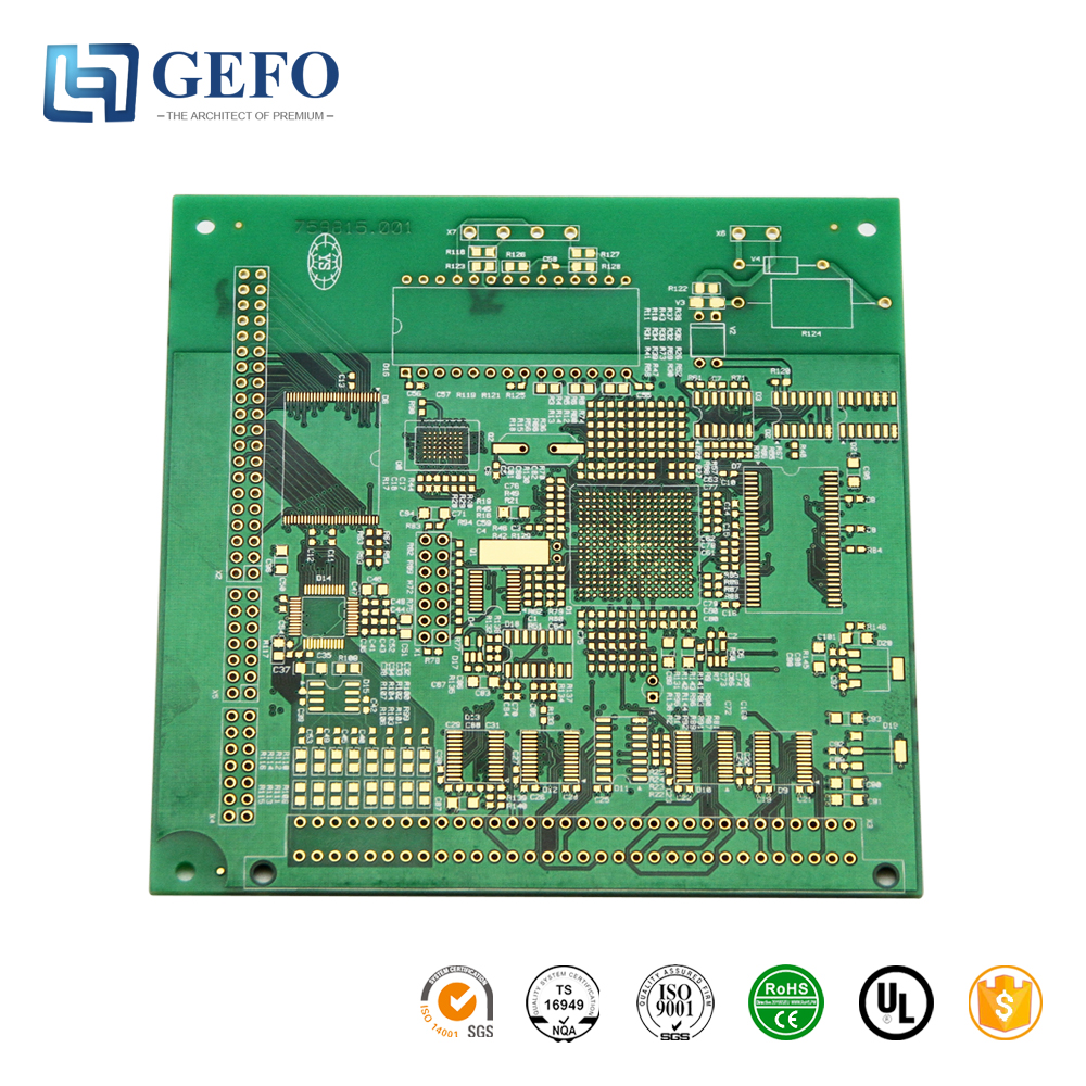 Cheap Custom 16mm Electronic Printed Circuit Board Assembly Fr4 For