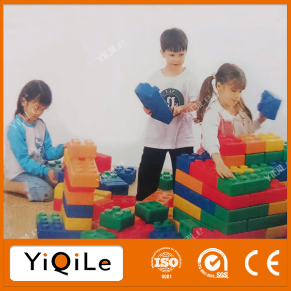 Large toy plastic building blocks for kids