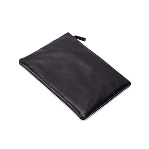 Wholesale Custom Leather Travel Makeup Bag Cosmetic Pouch