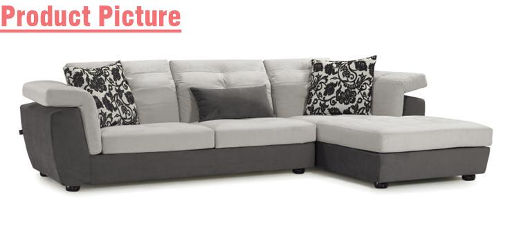 Simple Sectional L Shape Sofa Fs1002