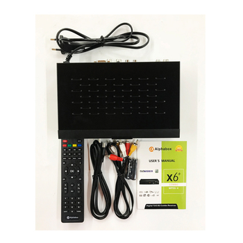 Alpha Box X6 Combo Dvb-t2 Wifi Satellite Receiver - Buy Alphabox  X6,Alphabox X6 Receiver,Dvb T2 Satellite Reciever Product on Alibaba com
