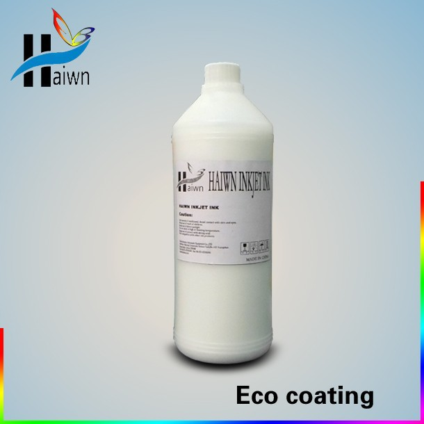 eco solvent based coating/eco pretreatment liquid for rubber printer